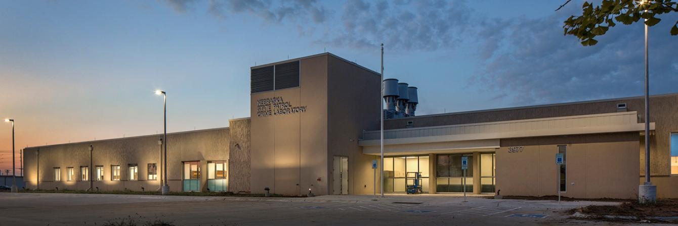 nebraska state patrol crime laboratory building