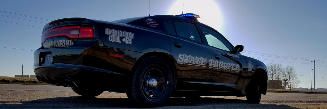 nebraska state patrol car