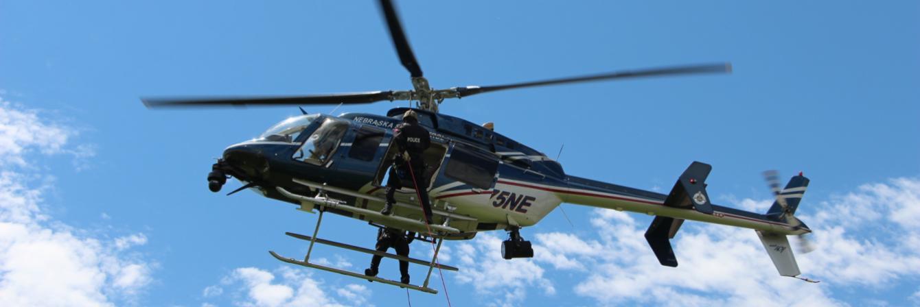 nebraska state patrol helicopter