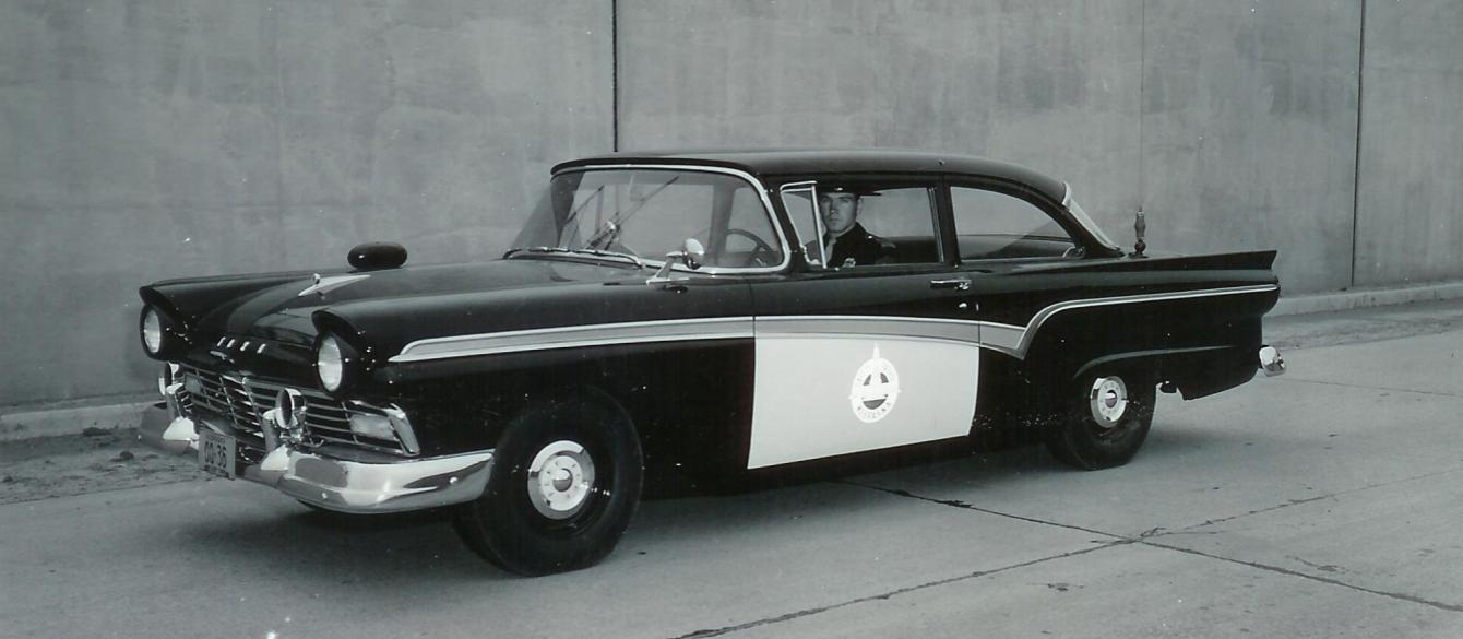 1957 Ford Patrol Car