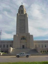 capitol building in Lincoln Nebraska