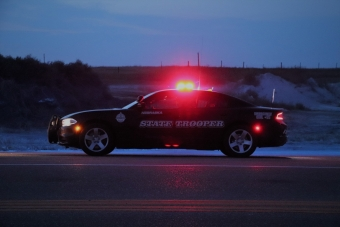 NSP Cruiser at night