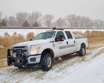 NSP Truck in Snow