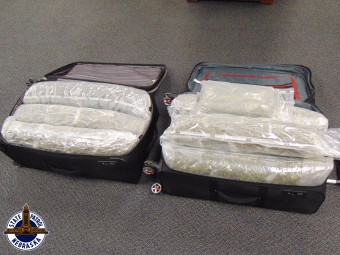 57 pounds of marijuana