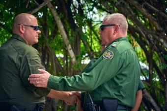 Trooper and Border Patrol Agent