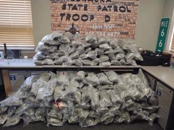 262 pounds of marijuana