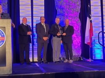 Trooper Goodschmidt Receives Award