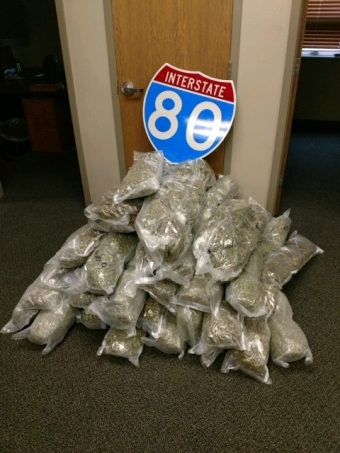 155 LBs of marijuana