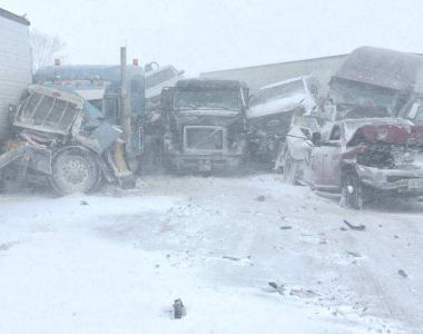 Crash on I-80