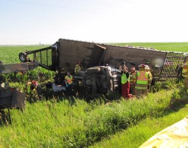 Crash on Highway 92