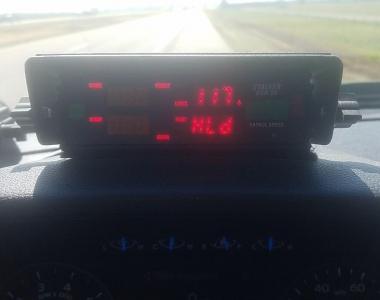 Speeding radar