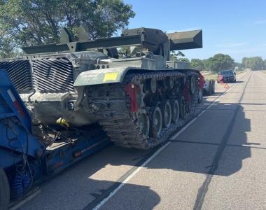 Military Vehicle Abandoned