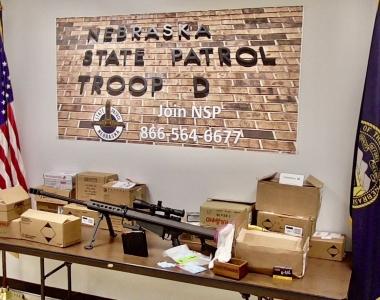 NSP Drugs, Gun Seizure